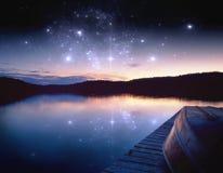 Hintergrund -- Celestial Paradise Lizenzfreie Stockfotos
