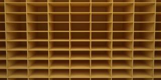 Hintergrund 3d übertragen in Form von rechteckigen Zellen lizenzfreies stockfoto