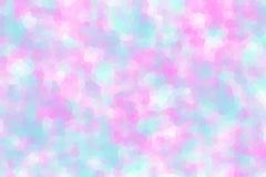 Hintergrund in den Pastellfarben - rosa und hellblau stock abbildung