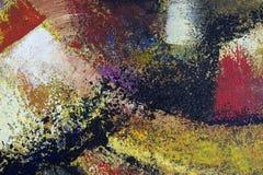 Hintergrund der abstrakten Kunst Ölgemälde auf Segeltuch Stockfotos