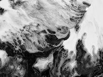 Hintergrund der abstrakten Kunst Ölgemälde auf Segeltuch Fragment der Grafik Stellen der Ölfarbe Pinselstriche der Farbe Moderne  Lizenzfreies Stockfoto