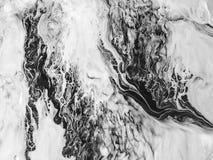 Hintergrund der abstrakten Kunst Ölgemälde auf Segeltuch Fragment der Grafik Stellen der Ölfarbe Pinselstriche der Farbe Moderne  Lizenzfreie Stockfotos