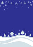 Hintergrund der abstrakten Kunst des Weihnachtsbaums Stockfotografie