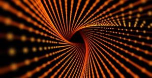 Hintergrund der abstrakten Wissenschaft oder der Technologie Reihe mit dynamischen Partikeln lizenzfreie stockfotos