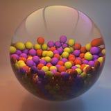 Hintergrund der Abstraktion 3D Stockbild