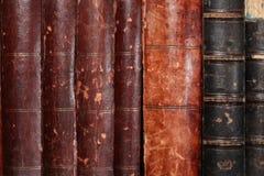 Hintergrund der alten Bücher Lizenzfreies Stockbild