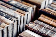 Hintergrund der alten Bücher Alte Manuskripte Stockfoto