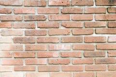 Hintergrund der alten Backsteinmauer Stockfoto