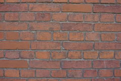 Hintergrund der alten Backsteinmauer Stockfotos