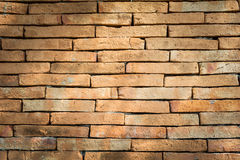 Hintergrund der alten Backsteinmauerbeschaffenheit Stockfoto
