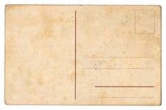 Hintergrund der alten Postkarte Stockbild