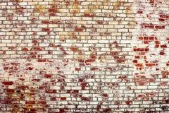 Hintergrund der alten Weinlesebacksteinmauer Lizenzfreies Stockbild