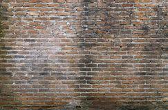 Hintergrund der alten Weinlesebacksteinmauer, alter Backsteinmauerhintergrund Lizenzfreie Stockfotos