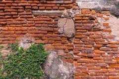 Hintergrund der alten Weinlesebacksteinmauer, Tapeten-Muster Stockbild
