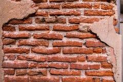 Hintergrund der alten Weinlesebacksteinmauer, Tapeten-Muster Stockbilder