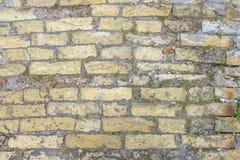 Hintergrund der alten Ziegelsteinbodenbeschaffenheit Lizenzfreie Stockfotos