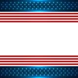 Hintergrund der amerikanischen Flagge Stockfoto