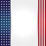 Hintergrund der amerikanischen Flagge Lizenzfreies Stockbild