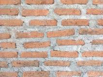 Hintergrund der antiken Backsteinmauerbeschaffenheit Stockbild