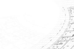 Hintergrund der Architekturzeichnung Stockfoto