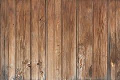Hintergrund in der Art ein rustikales von den alten hölzernen unbemalten Brettern Stockbild