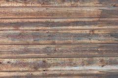 Hintergrund in der Art ein rustikales von den alten horizontalen hölzernen Brettern Lizenzfreie Stockfotografie