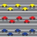 Hintergrund der Autos Lizenzfreie Stockfotos