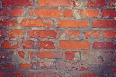 Hintergrund der Backsteinmauer Stockfoto