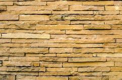 Hintergrund der Backsteinmauer Stockfotografie