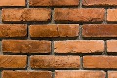 Hintergrund der Backsteinmauerbeschaffenheit Lizenzfreies Stockbild