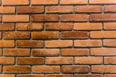 Hintergrund der Backsteinmauerbeschaffenheit Stockbild