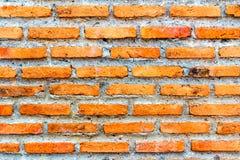 Hintergrund der Backsteinmauerbeschaffenheit Stockfotos