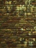 Hintergrund der Beschaffenheit des alten Ziegelsteines oder der Steinwand Stockfotos