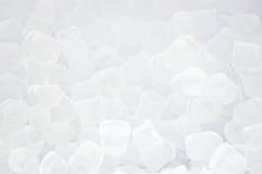 Hintergrund der blauen Eiswürfel Stockbild