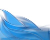 Hintergrund der blauen Flamme Stockfoto