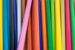 Hintergrund der Bleistifte Stockfoto