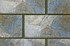 Hintergrund der Blockwand Stockbilder
