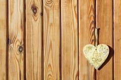 Hintergrund der braunen hölzernen Planke Stockbilder