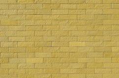 Hintergrund der bunten Backsteinmauer Lizenzfreies Stockfoto