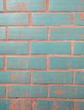 Hintergrund der bunten Backsteinmauerbeschaffenheit Lizenzfreies Stockbild