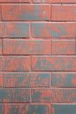 Hintergrund der bunten Backsteinmauerbeschaffenheit Stockbild