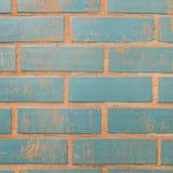 Hintergrund der bunten Backsteinmauerbeschaffenheit Lizenzfreies Stockfoto