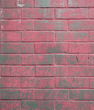 Hintergrund der bunten Backsteinmauerbeschaffenheit Stockfoto