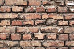 Hintergrund der bunten Backsteinmauerbeschaffenheit maurerarbeit Lizenzfreie Stockbilder