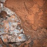 Hintergrund der bunten Backsteinmauerbeschaffenheit maurerarbeit Lizenzfreie Stockfotografie