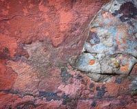 Hintergrund der bunten Backsteinmauerbeschaffenheit maurerarbeit Stockbild