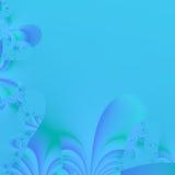 Hintergrund der eleganten blauen abstrakten Auslegung. Stockfotografie