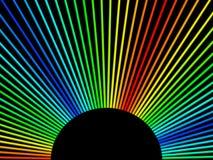 Hintergrund der Farbe 3d Stockbild
