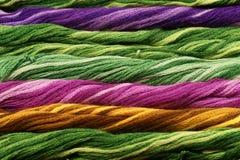 Hintergrund der Farbengewinde Stockbild