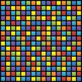 Hintergrund der farbigen Quadrate Stockbilder